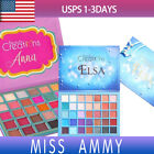 [BEAUTY CREATIONS]ELSA ANNA EYESHADOW MAKEUP PALETTE 35 COLORS PIGMENTED SHIMMER