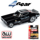 Auto World 4Gear R22 Don Big Daddy Garlits '71 Dodge Charger Funny HO Slot Car