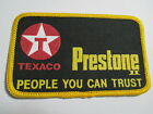 Texaco, People You Can Trust , Vintage,Embroidered patch,   NOS,  4 1/4 x 2 1/2