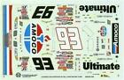 Slixx 1400 #93 Amoco 1999-Dave Blaney Nascar decal