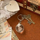 20 144 Crystal Glass Globe Key Chain Travel Themed Wedding Shower Party Favors