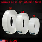 Magic Double sided Grip Tape Traceless Washable Adhesive Gel Nano Invisible Tape