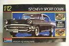 Vintage MONOGRAM  '57 CHEVY SPORT COUPE, Very Nicely Started, 1/12 Scale, 1986!