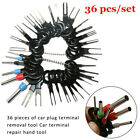 36pc Wiring Connector Extractor Motorcycle Terminal Pin Removal Release Tool Kit