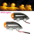 4x Turn Signals Indicator Lights For Harley XL Sportster 1200 Custom Touring