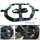 High Strength Black Motorcycle Rear Wheel Handlebar Transport Bar Tie Down Strap