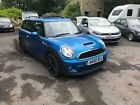 LARGER PHOTOS: 2010 MINI CLUBMAN 1.6 COOPER S BLUE NON RUNNER SPARES OR REPAIR