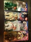 Ty Teeny Beanie Babies 1999 Int Bears With Error McDonald's, Retired, set of 4