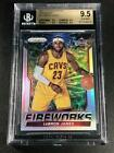 LEBRON JAMES 2003 TOPPS COLLECTION #221 ROOKIE RC NM-MINT+ BGS 8.5 CAVS LAKERS