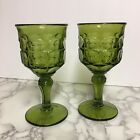 Pair Of Avocodo Green Glass 7