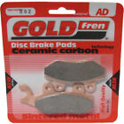 Front Disc Brake Pads for Hyosung GV 125 Aquila 2000 125cc  By GOLDfren