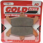 Front/Rear Disc Brake Pads for Moto Morini 350 Excalibur 1986 344cc  By GOLDfren
