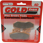 Front Disc Brake Pads for Hyosung GV 125 Aquila 2006 125cc  By GOLDfren