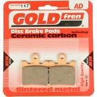 Front Disc Brake Pads for Daelim SL 125 Otello Fi 2007 125cc  By GOLDfren