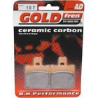 Front Disc Brake Pads for MBK CW 50RSX Booster Track 1996 50cc  By GOLDfren
