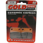 Front Disc Brake Pads for Daelim S-Five 50 2006 50cc  By GOLDfren