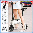 Aluminum Electric Bike Scooter Foldable Moped Bicycle Adult E Bike 110 240V Gift