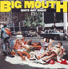 BIG MOUTH Quite Not Right CD 10 Track (7818812)  Atlantic 1988