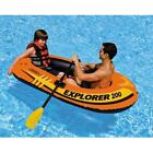 Two Person Explorer 200 Boat for Summer Fun in Pool or Calm Lake Rigid
