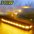 72 Led Light Bar 38 Recovery Beacon Warn Tow Truck Plow Response Strobe Amber