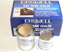 Caswell Gas Tank Sealer repair kit motorcycles 10 gallon steel fiberglass cans