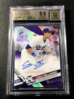 CODY BELLINGER 2017 TOPPS CHROME REFRACTOR AUTO 129 250 ROOKIE RC BGS 9.5 10