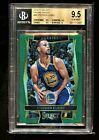 2016 Select #88 Stephen Curry Green Prizm 5 BGS 9.5