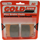 Front Disc Brake Pads for Honda CB250RS 1980 234cc (MC02/B769) By GOLDfren