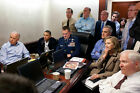 OBAMA SITUATION ROOM WAITING FOR UPDATES 12x18 SILVER HALIDE PHOTO PRINT