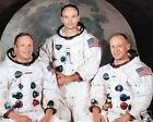 Apollo 11 Neil Armstrong Michael Collins Buzz Aldrin 11 x 14 Photo Photograph a