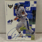 1999 Upper Deck SP Signature #RL Ray Lewis Baltimore Ravens ON CARD Auto
