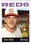 1964 Topps #125 Pete Rose (UER Born in 1942) '63 AS ROOKIE Graded BVG Ex 5 Reds