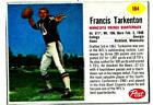Fran Tarkenton Cards, Rookie Card and Autographed Memorabilia Guide 18