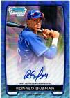 2012 Bowman Baseball Blue Wave Refractor Autographs Are Red-Hot 49