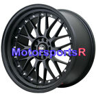 XXR 521 20 Flat Black Lip Staggered Rims Wheels 5x1143 93 97 98 Toyota Supra TT