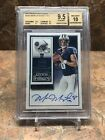 Marcus Mariota 2015 Panini Contenders Rookie Ticket Auto #225A RC BGS 9.5 10