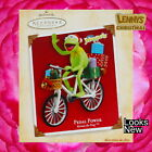 Hallmark Ornament, 2004 Pedal Power, Kermit the Frog, Muppets, Looks New