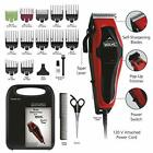 Professional Hair Cut Machine Barber Salon Cutting All Clippers Trimmer Kit Wahl