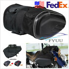 USA Stock Motorcycle Bikes Saddle Bags Luggage Bag Oxford With Waterproof Cover