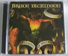 BRUCE DICKINSON TYRANNY OF SOULS CD JEWEL CASE MADE IN BRAZIL 1st PRESSING 2005