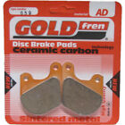 Front Disc Brake Pads for Harley Davidson FXSB Low Rider 1983 1340cc By GOLDfren