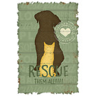 Rescue Them All DOG Tshirt Sizes Colors