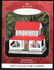 1999 HALLMARK - FARM HOUSE - PRESS TIN-1ST IN TOWN & COUNTRY SERIE - MINT IN BOX