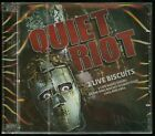 Quiet Riot 2 Live Biscuits King Biscuit Flower Hour 1983 & 1984 CD new