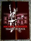 MICHAEL SCHENKER TEMPLE OF ROCK 1ST PRESS POSTER JAPAN ONLY RARE