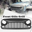 Car Front Angry Egale Eye Hook Grid Grill Grille For 2007 2017 Jeep Wrangler JK