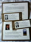 Vintage 2006 Special Invitation DONALD TRUMP Way To Wealth Seminar 2 Ticket RSVP