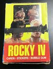 1985 Topps ROCKY IV Box of Unopened Wax Packs