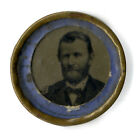 Unlisted 1868 Ulysses Grant Portrait Ferrotype Campaign Badge