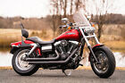 2013 Harley-Davidson Dyna  2013 Harley-Davidson Dyna Fatbob Fat Bob FXDF-103 Candy Orange Only 17,607 Miles